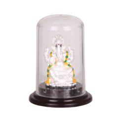 Silver lord Ganesh idol
