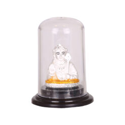 Silver lord murugan idol