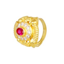 Graceful Gold Ring