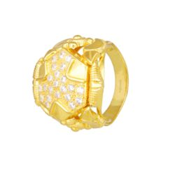 Modern Gold Ring