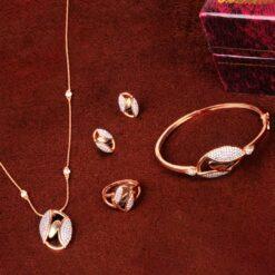 Ellipse necklace Set