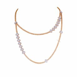 Step Long Necklace